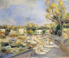 Cagnes Countryside | Renoir | Painting Reproduction