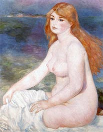 Bather (Blonde Bather II) | Renoir | Painting Reproduction