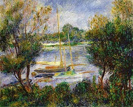The Seine at Argenteuil | Renoir | Painting Reproduction