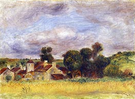 Brittany Countryside | Renoir | Painting Reproduction