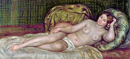 Large Nude, 1907 by Renoir | Painting Reproduction