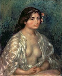 Woman Semi-Nude | Renoir | Painting Reproduction