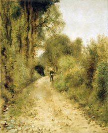 On the Path | Renoir | Painting Reproduction