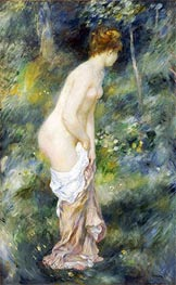 Standing Bather, 1887 by Renoir | Painting Reproduction