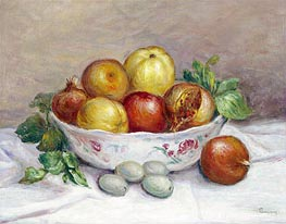 Still Life with a Pomegranate | Renoir | Painting Reproduction