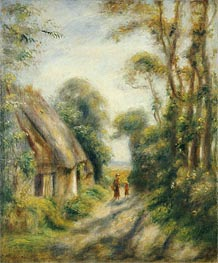 The Outskirts of Berneval | Renoir | Painting Reproduction