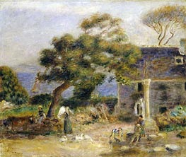 View of Treboul | Renoir | Painting Reproduction