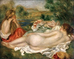 Two Bathers | Renoir | Painting Reproduction