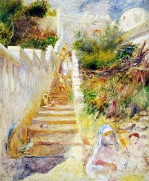 The Steps, Algiers | Renoir | Painting Reproduction