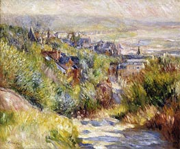 The Heights of Trouville | Renoir | Painting Reproduction
