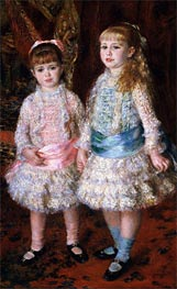 Pink and Blue (The Cahen d'Anvers Girls) | Renoir | Painting Reproduction