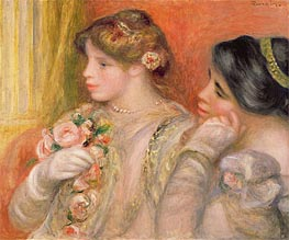In the Lodge | Renoir | Painting Reproduction