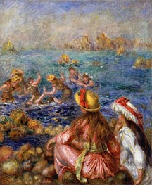The Bathers | Renoir | Painting Reproduction