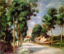 The Road to Essoyes | Renoir | Painting Reproduction