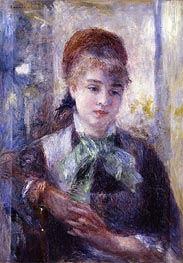Portrait of Nini Lopez, 1876 by Renoir | Painting Reproduction