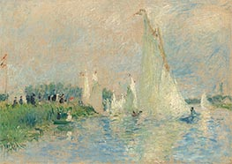 Regatta at Argenteuil | Renoir | Painting Reproduction