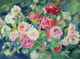 Roses, c.1885 by Renoir | Painting Reproduction