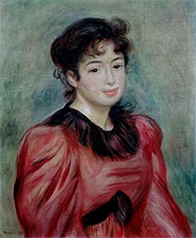 Mademoiselle Victorine de Bellio, 1892 by Renoir | Painting Reproduction