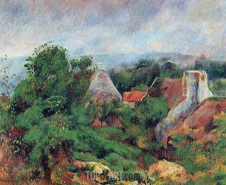 La Roche-Guyon, 1885 | Renoir | Painting Reproduction
