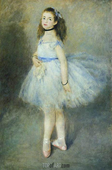 The Dancer, 1874 | Renoir | Gemälde Reproduktion