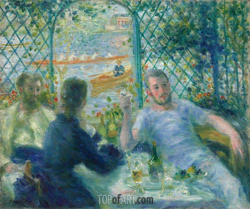 Lunch at the Restaurant Fournaise, c.1879 | Renoir | Painting Reproduction