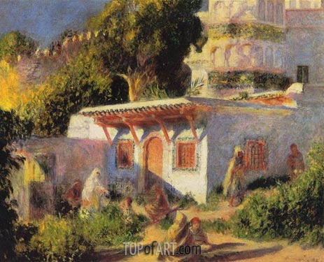 Mosque in Algiers, 1882 | Renoir | Painting Reproduction