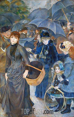 The Umbrellas, c.1881/86 | Renoir | Gemälde Reproduktion