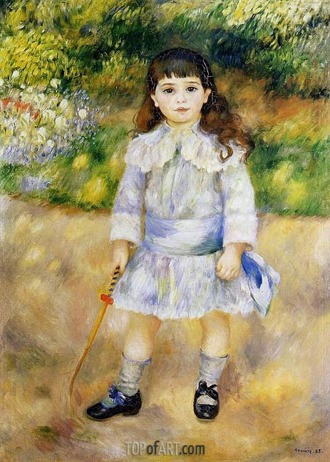Child with a Whip, 1885 | Renoir | Painting Reproduction