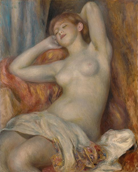 The Sleeping Bather (The Sleeper), 1897 | Renoir | Painting Reproduction