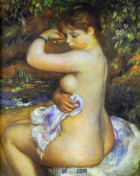 After the Bath, 1888 | Renoir | Painting Reproduction