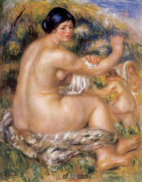 After the Bath, 1912 | Renoir | Painting Reproduction