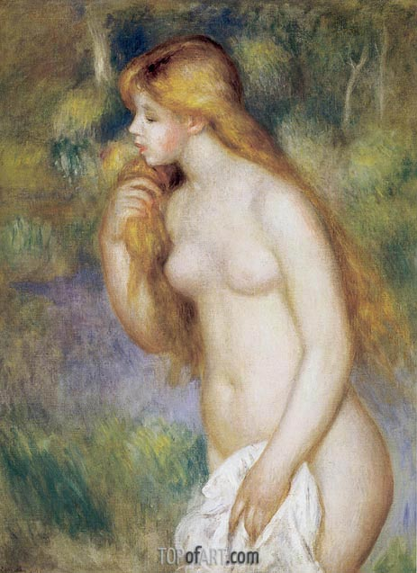 Bather Standing, 1896 | Renoir | Painting Reproduction