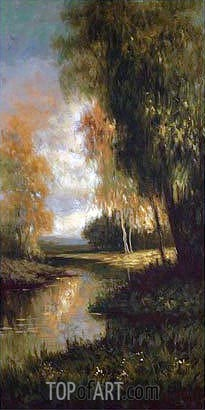 Tranquility Path II, Undated | Renoir | Painting Reproduction