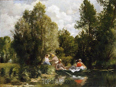 La Mare aux Fees, undated | Renoir | Painting Reproduction