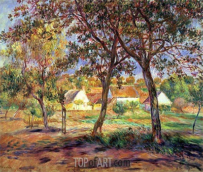 The Outskirts of Pont-Aven, c.1888/90 | Renoir | Painting Reproduction