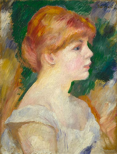 Suzanne Valadon, c.1885 | Renoir | Painting Reproduction