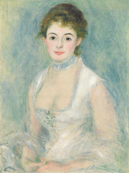 Madame Henriot, c.1876 | Renoir | Painting Reproduction