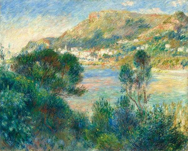 View of Monte Carlo from Cap Martin, c.1884 | Renoir | Painting Reproduction