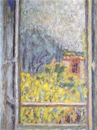 The Small Window (La Petite fenetre), 1946 von Pierre Bonnard | Gemälde-Reproduktion