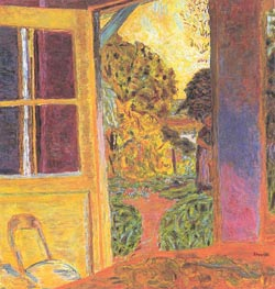Door Opening onto the Garden | Pierre Bonnard | Gemälde Reproduktion