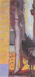 Standing Nude, 1920 by Pierre Bonnard | Painting Reproduction