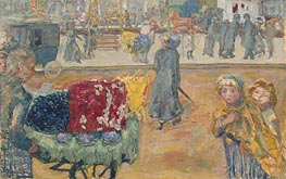 Evening in Paris, 1911 von Pierre Bonnard | Gemälde-Reproduktion