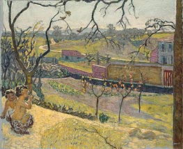 Early Spring. Little Fauns, 1909 by Pierre Bonnard | Painting Reproduction