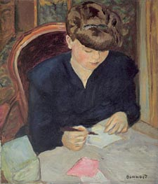 The Letter, c.1906 von Pierre Bonnard | Gemälde-Reproduktion