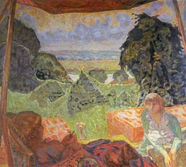 Summer in Normandy, c.1912 von Pierre Bonnard | Gemälde-Reproduktion