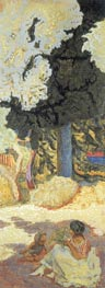 The Mediterranean. Triptych - Right Part, 1911 von Pierre Bonnard | Gemälde-Reproduktion