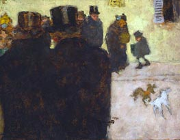 The Street in Winter, 1894 by Pierre Bonnard | Painting Reproduction