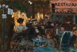 Cafe Terrace, 1898 by Pierre Bonnard | Painting Reproduction