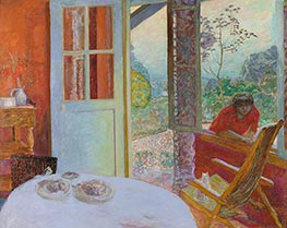 Dining Room in the Country, 1913 by Pierre Bonnard | Painting Reproduction