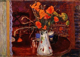 Wild Flowers, 1920 by Pierre Bonnard | Painting Reproduction